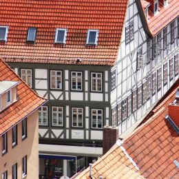 Half timbered houses Picture