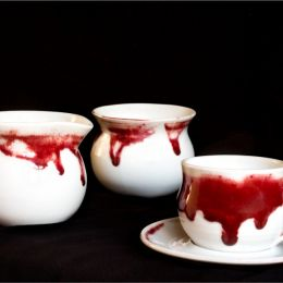 Porcelainwithcopperreductionglaze