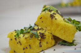 Indian Gujarati Dish - Dhokla