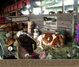 Cowbarn at the County Fair