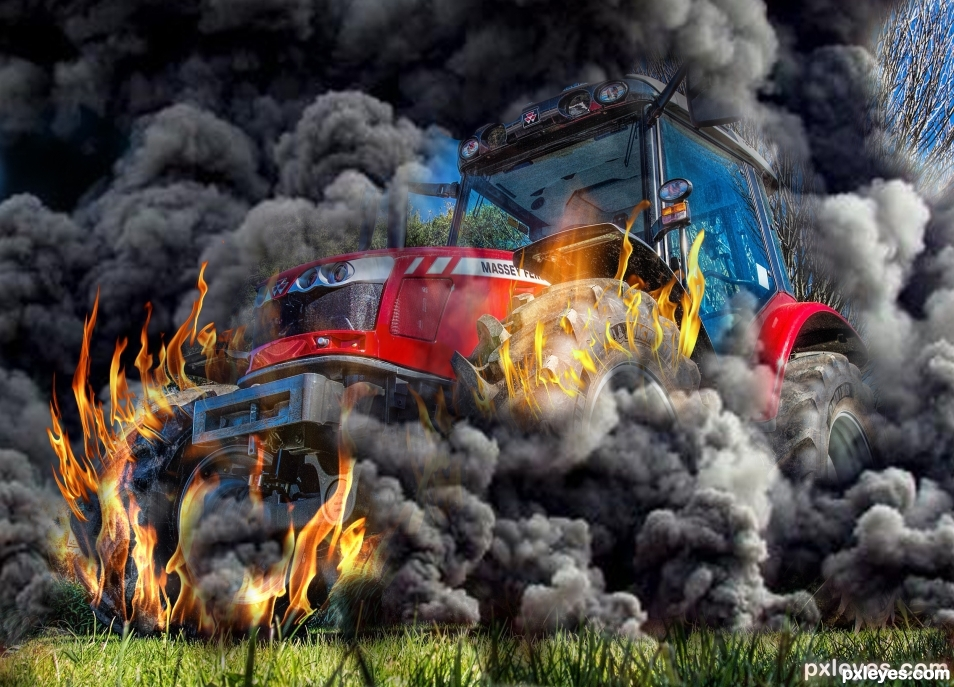 Tractor_on_Fire
