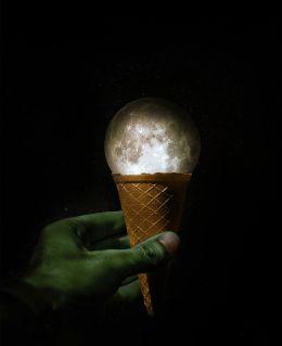 Vanilla Moon Ice cream