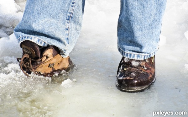 Iced feet