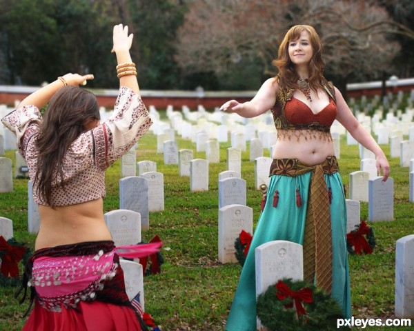 Dancing on Someones Grave