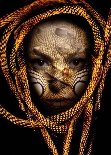 iguana women
