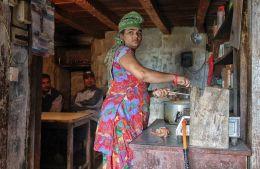 Lakshmi in Kitchen