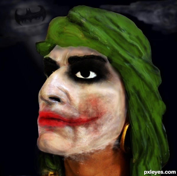 Creation of The Joker Wears Prada: Final Result