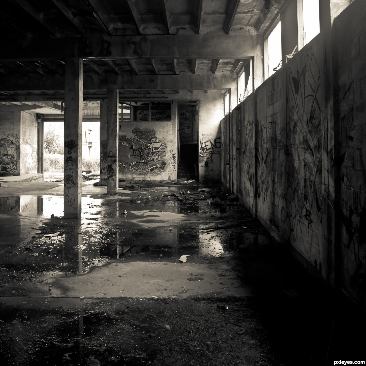 Old Factory Picture, By Artifakts For: Indoor Light