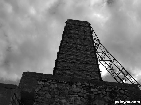 Abandoned Olive Press