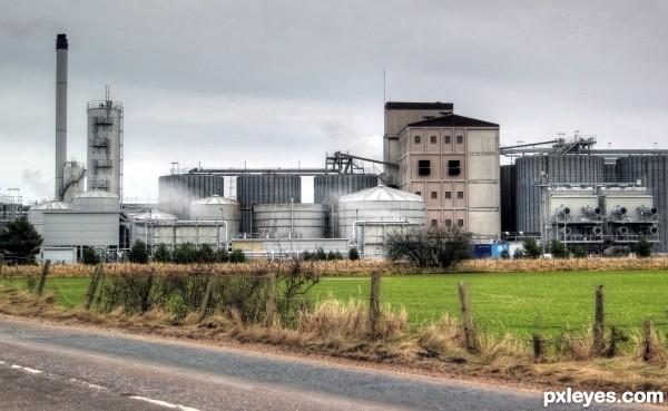 Diageo Distillery