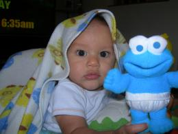 Bubba & Cookie Monster