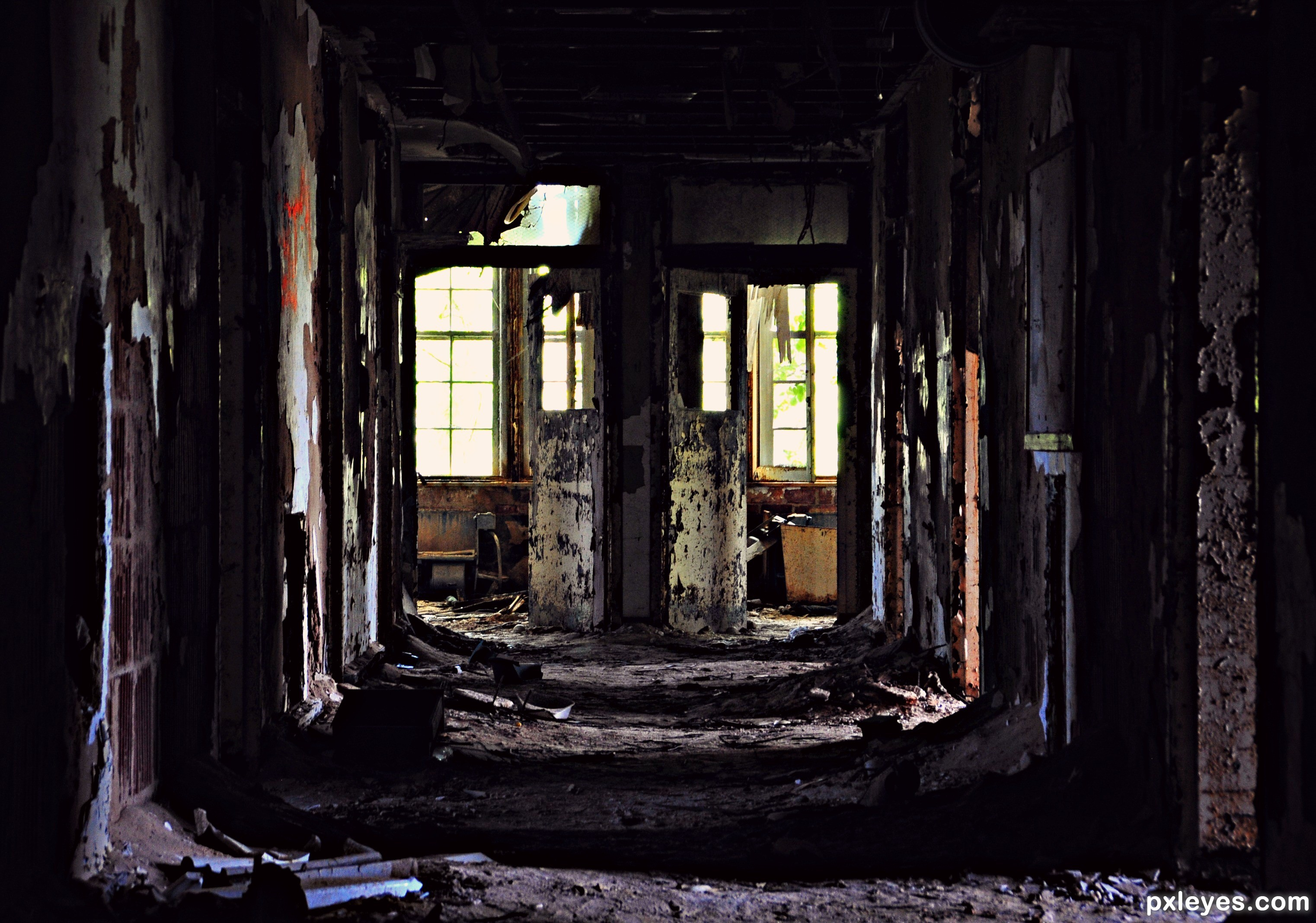 Inside Abandoned Buildings Related Keywords - Inside ...