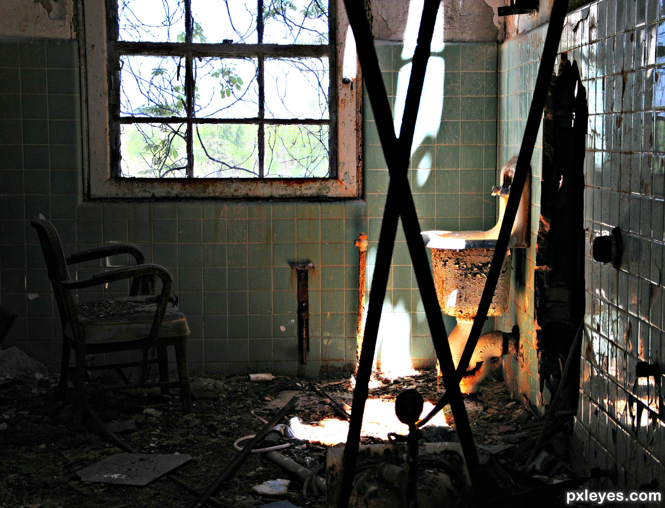 inside abandoned buildings photography - photo #22
