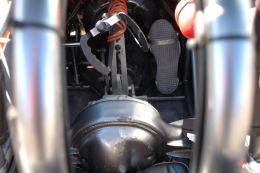 odd steering wheel