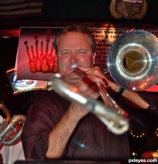 Trombone Player One