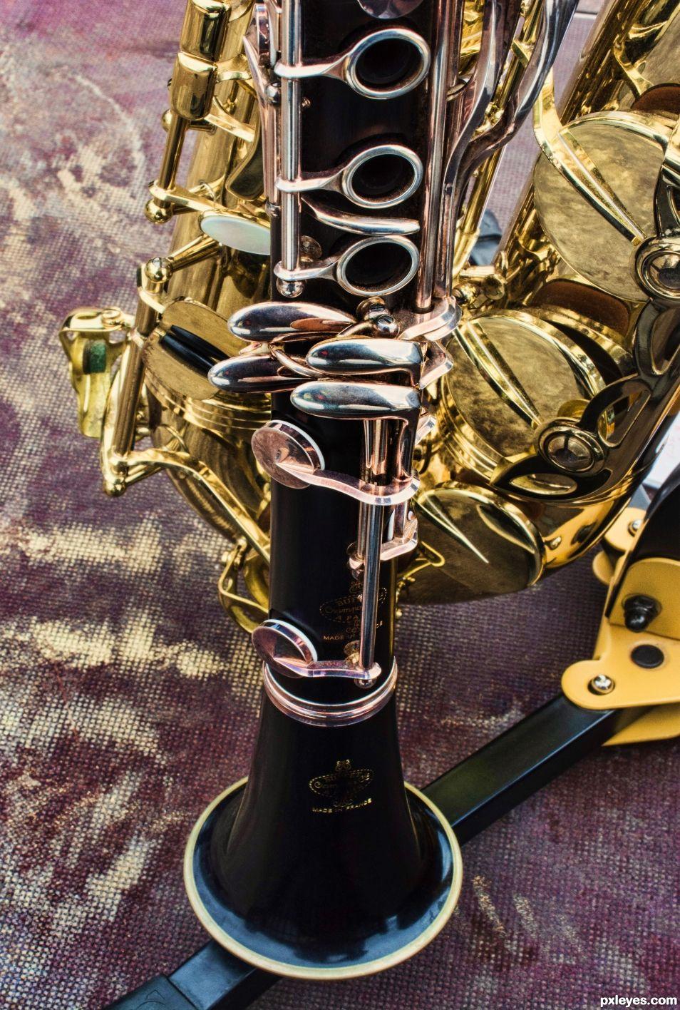 Buffet-Crampon clarinet