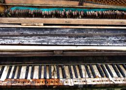 Was once a piano