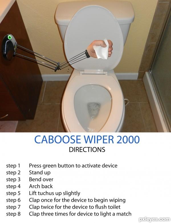 CABOOSE WIPER 2000