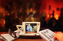 Portable Cup Coffee Tv
