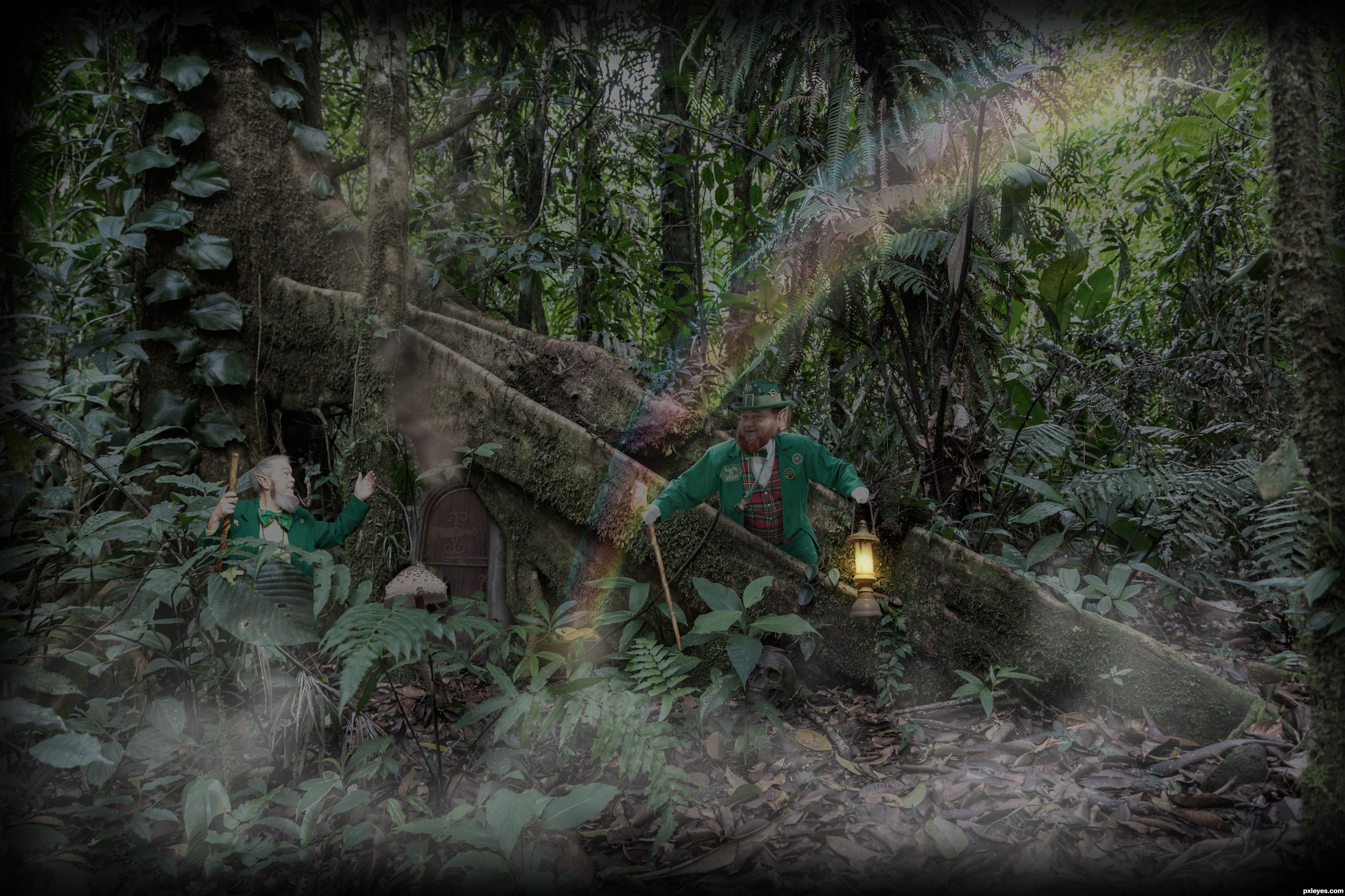 leprechaun u0027s lair picture by pearlie for ireland photoshop