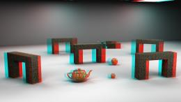 Stereoscopic 3D View