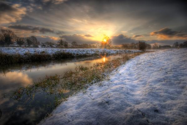 Winter Marsh.