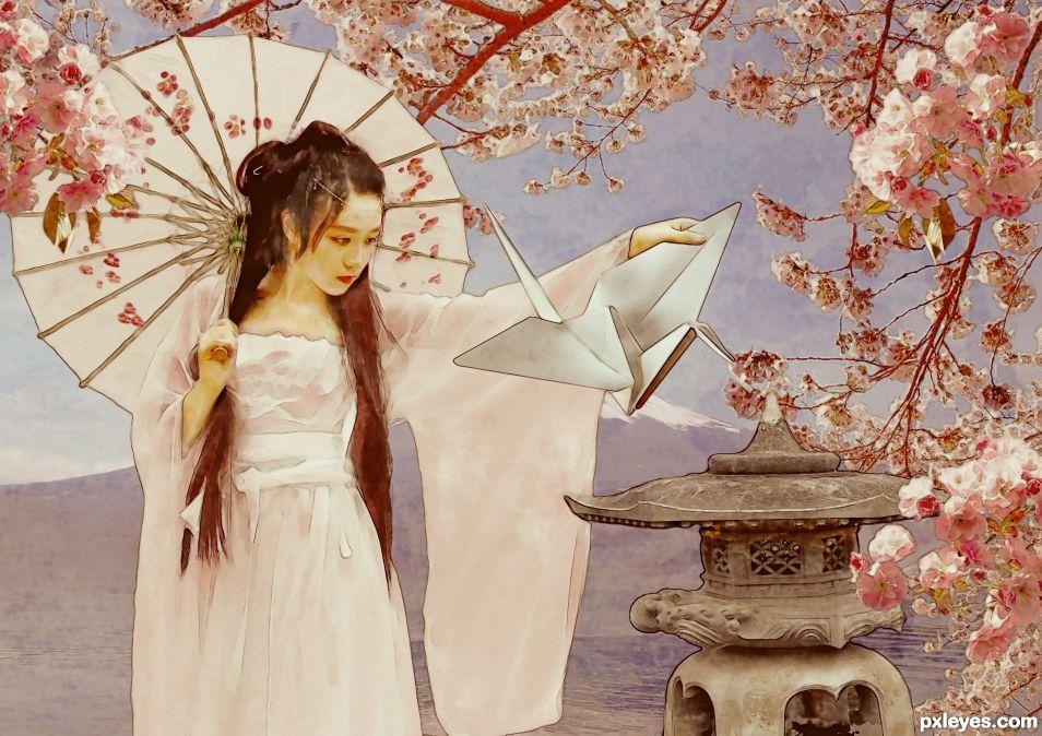 Geisha Origami