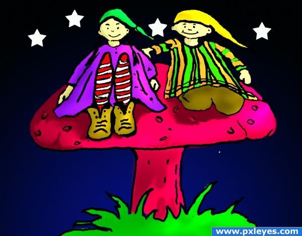 mushroom kids
