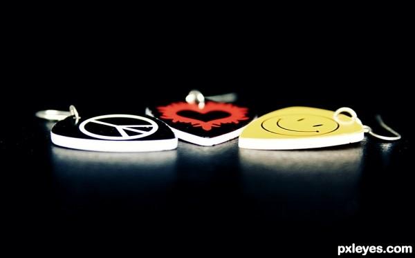 Peace  Love   amp Happ...