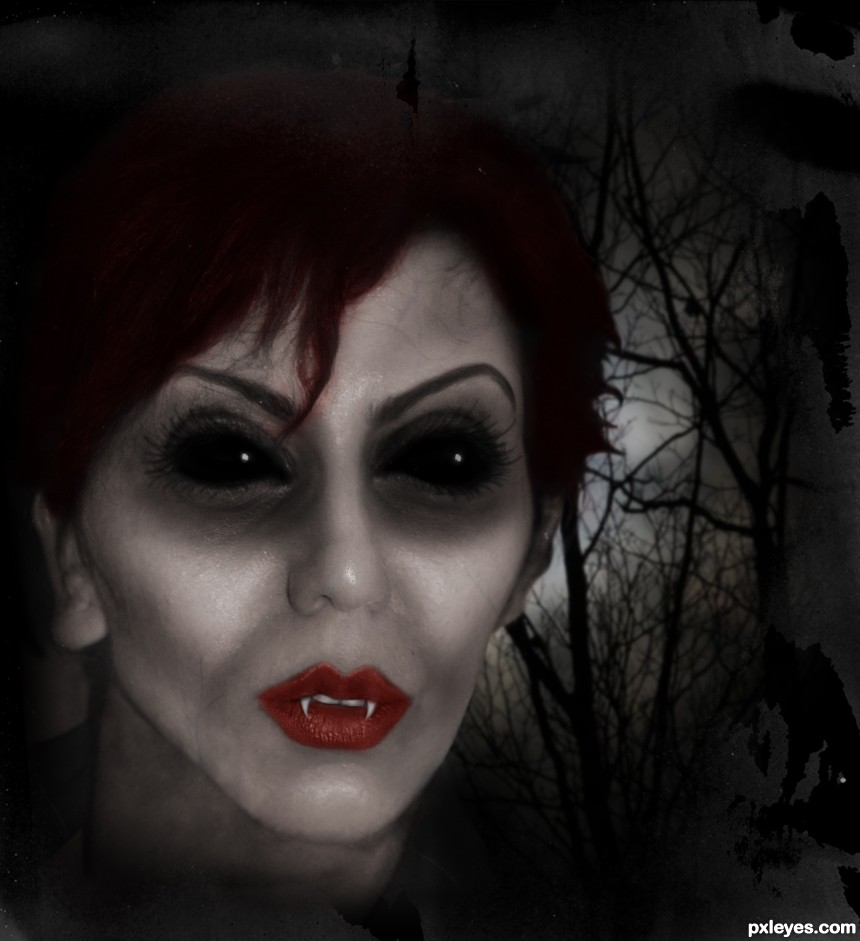 Demonic Glamour photoshop picture)