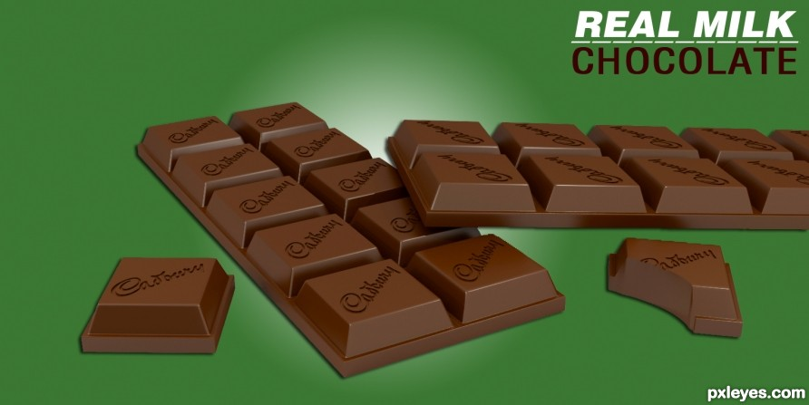 Creation of Real Milk CHOCOLATE: Final Result