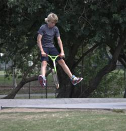 Boy jumping Picture