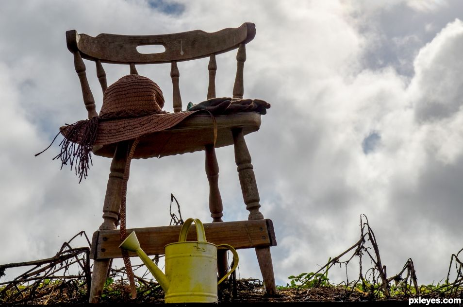 Gardeners chair