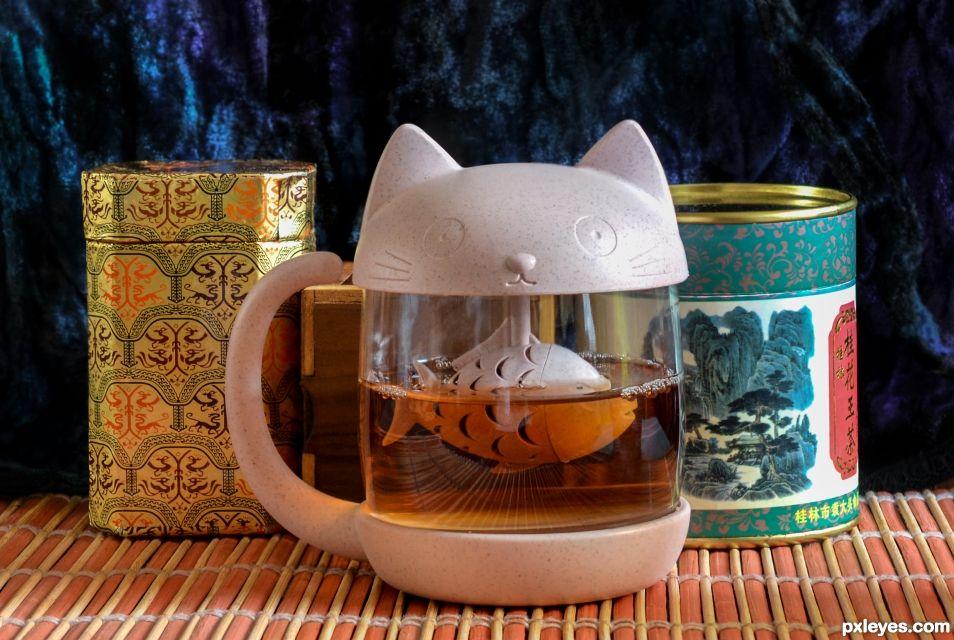 Cuppa-cat
