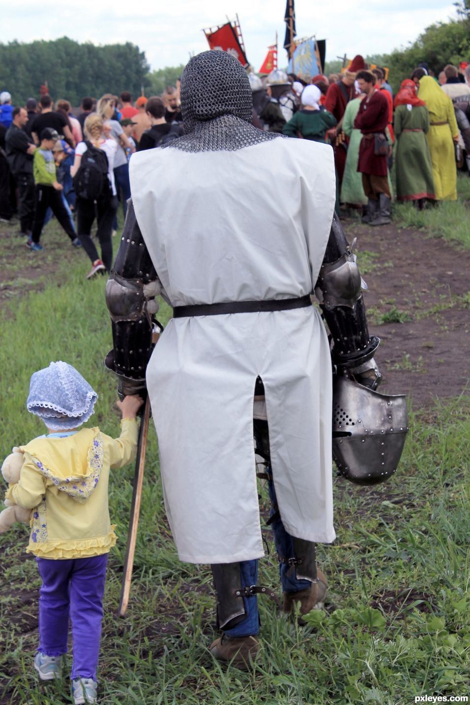 A Knight and a Kid