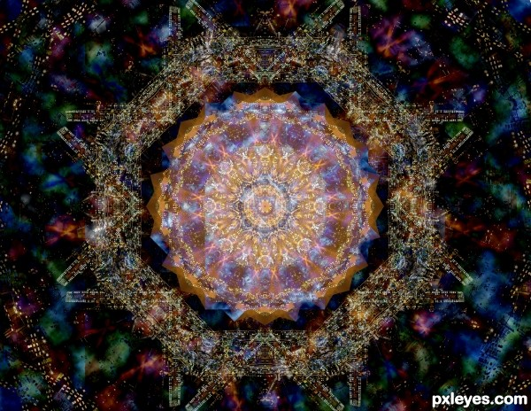Night through the kaleidoscope