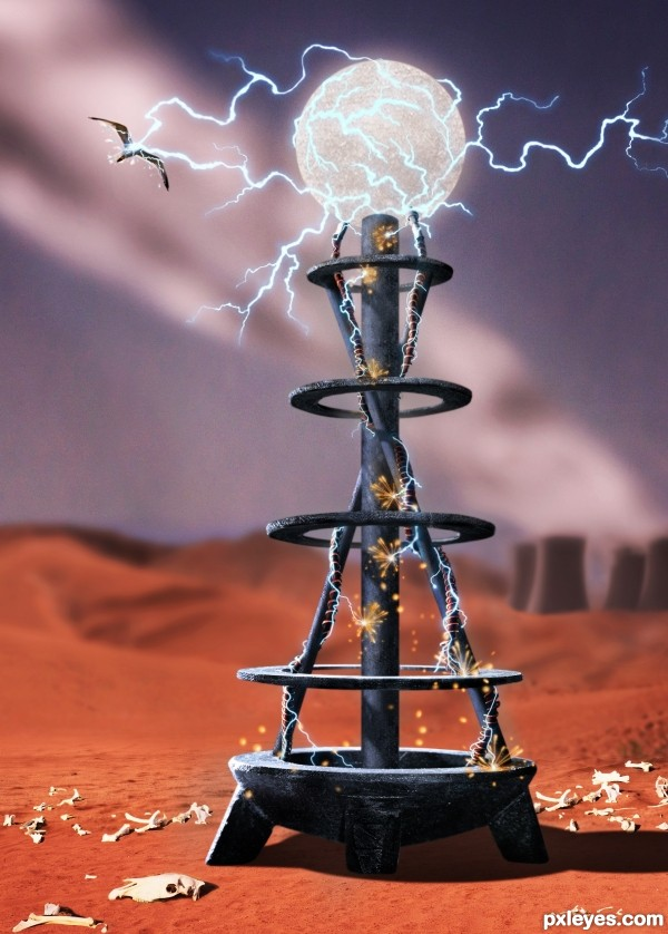 Creation of Tesla Coil: Final Result