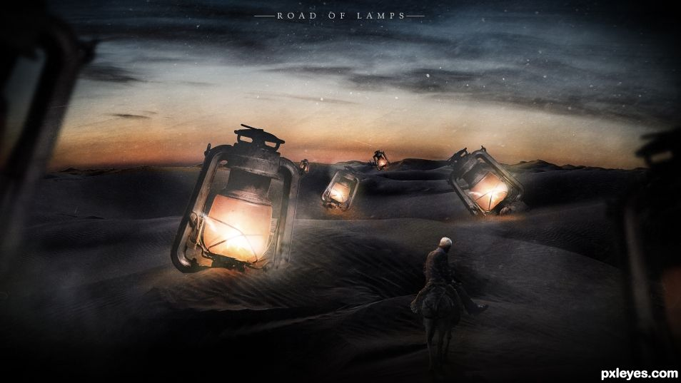 Road Of Lamps