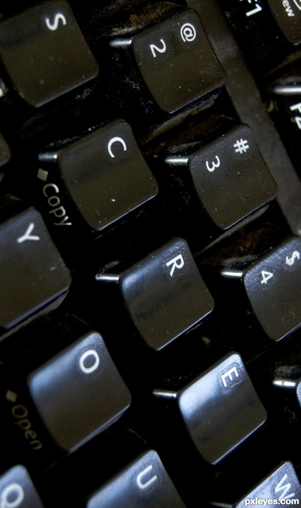 Keyboard with Attitude