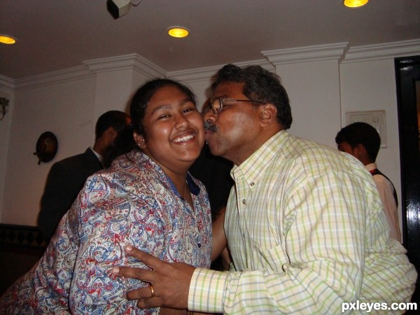 FATHERS KISS