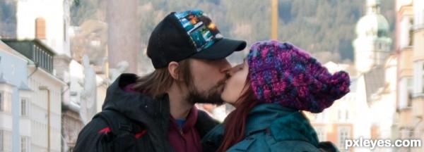 kisses in innsbruck
