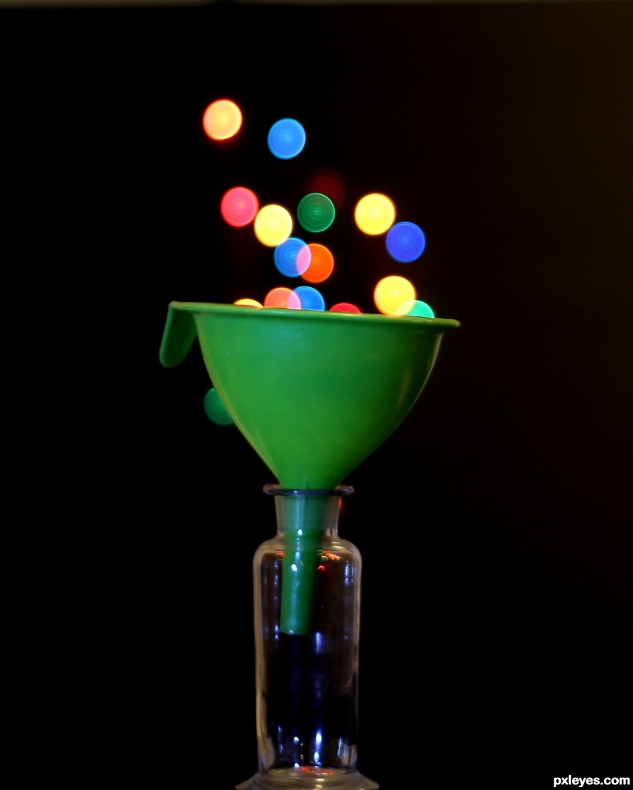 Funnel with bokeh