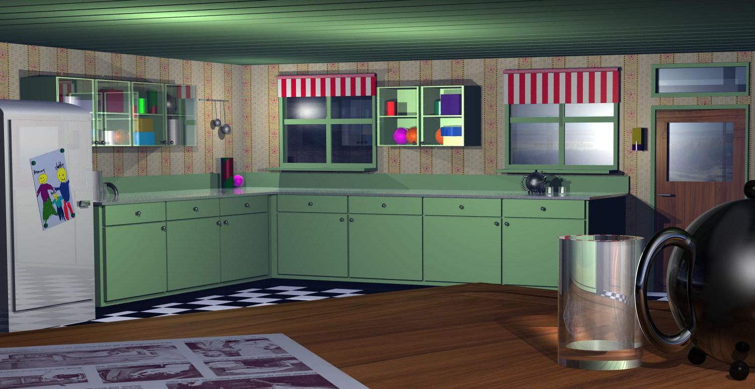 Yikes those fifties picture by robvdn for kitchen 3d for E kitchen american cambodia