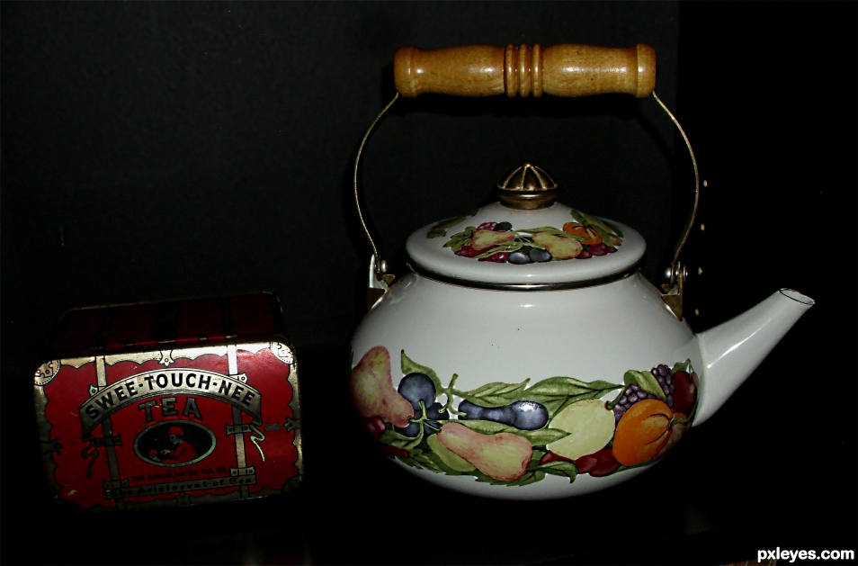 Im just a little teapot...