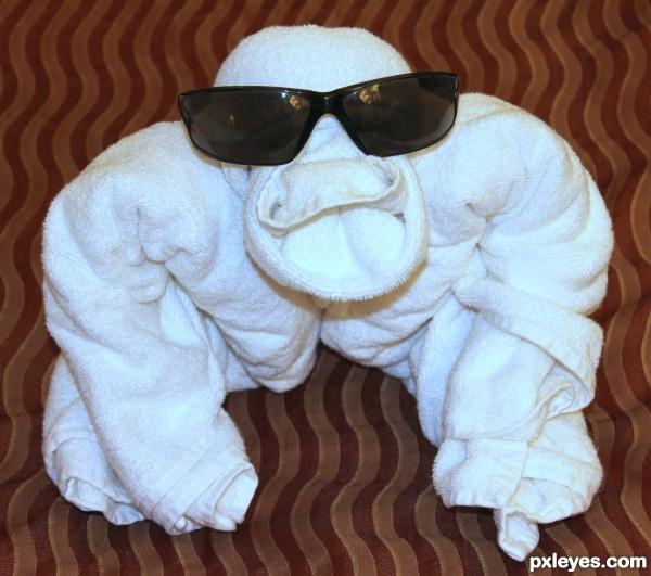 Towel Monkey