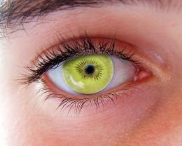 kiwi green eye