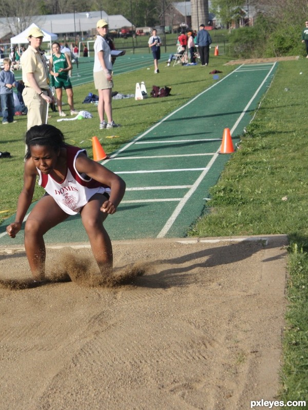 L is for long jump