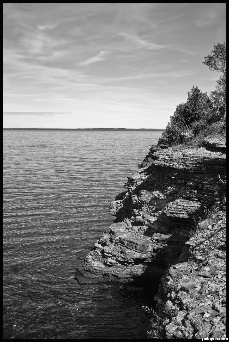 The Shore of Lake Ontario