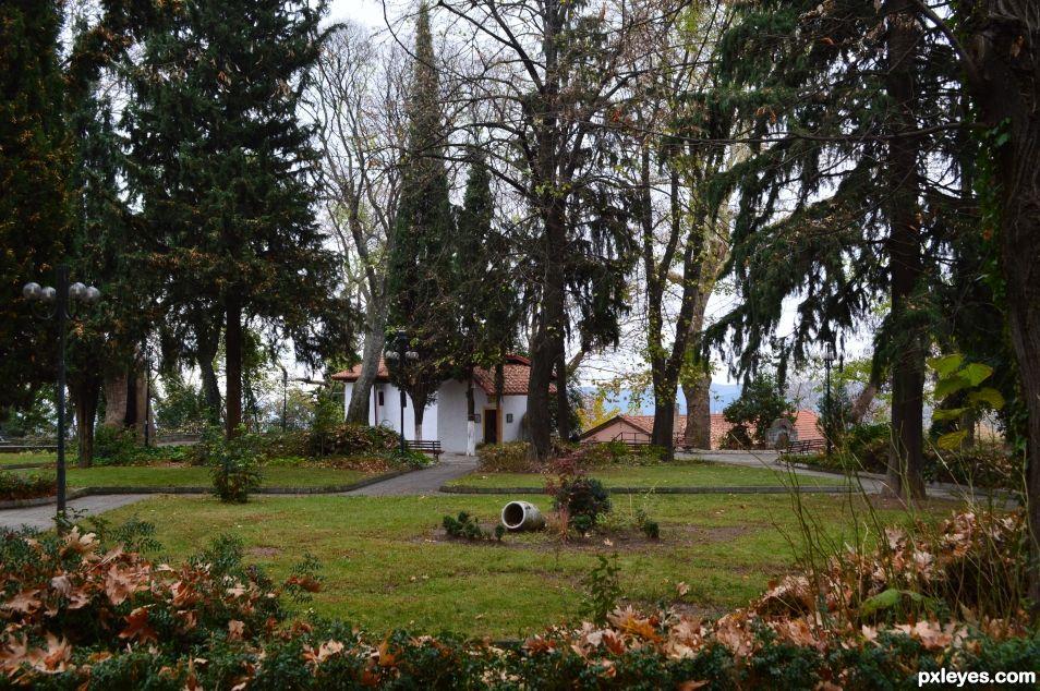 autumn in Edessa