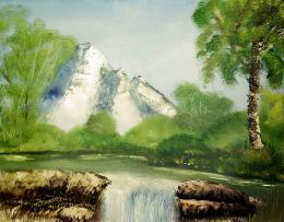 Morning Waterfall